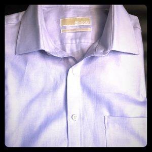 Michael Kors men's button down long sleeve shirt